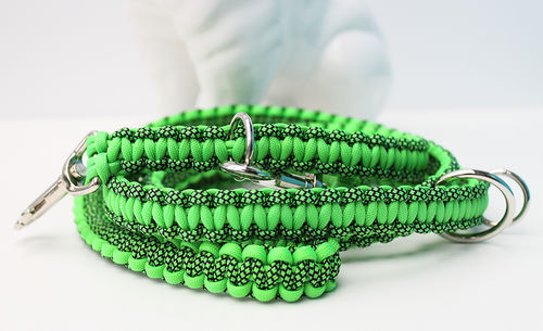 Leine_Para - Cobra - NEON GREEN / NEON GREEN DIAMONDS