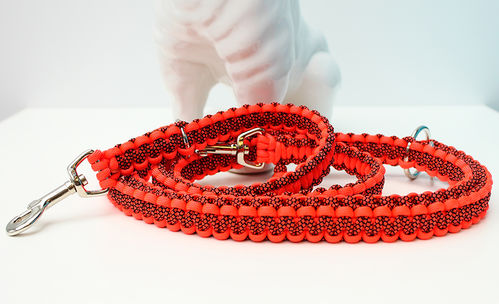 Leine_Para - Cobra - NEON ORANGE / NEON ORANGE DIAMONDS