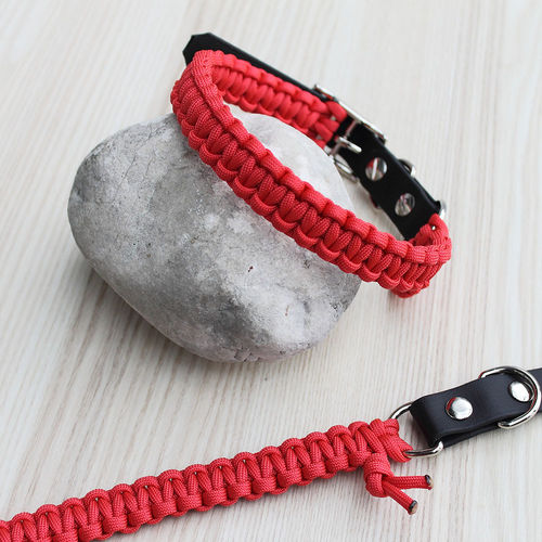 HB - Biothane/Paracord - 20mm - RED