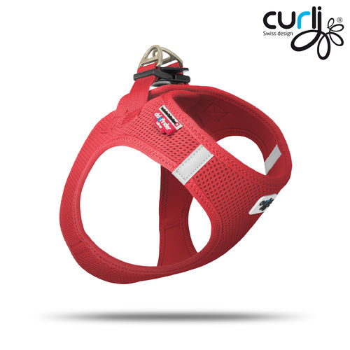 CURLI - Vest Harness Air Mesh - rot