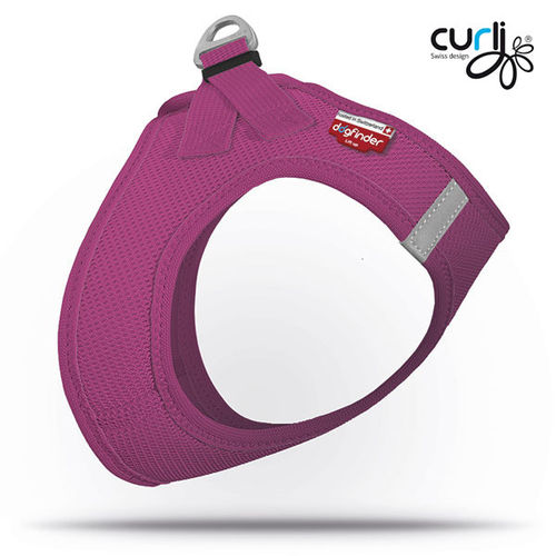 SPECIAL EDITION - CURLI - Vest Harness Air Mesh - berry