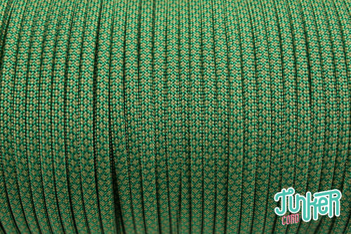 Meterware 550 TYP III Cord, Farbe KELLY GREEN & MOSS DIAMONDS