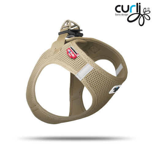 CURLI - Vest Harness Air Mesh - tan