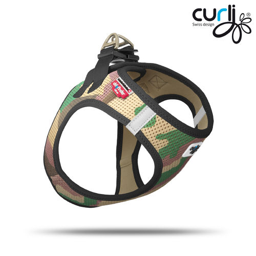 CURLI - Vest Harness Air Mesh - camouflage
