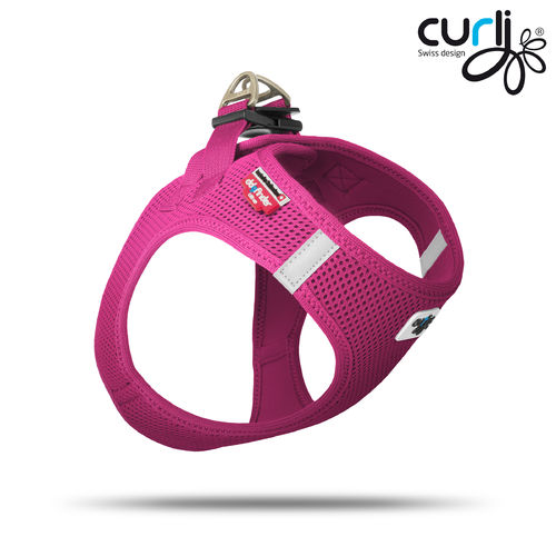 CURLI - Vest Harness Air Mesh - fuchsia